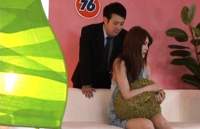 Asian Hottie Erika gets an Unusual Job Interview