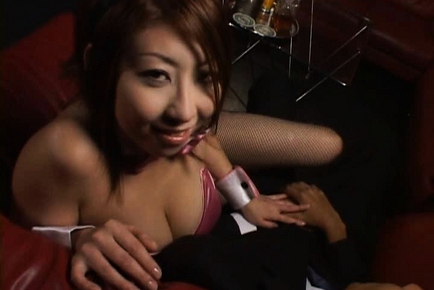 Suzuka Ishikawa Asian chick has lovely huge tits
