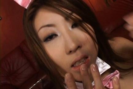 Suzuka Ishikawa Asian chick has lovely huge tits