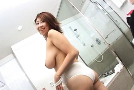 Suzuka Arinaga Hot Asian doll with big tits