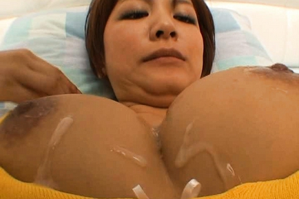 Meguru Kosaka Japanese model has big boobs