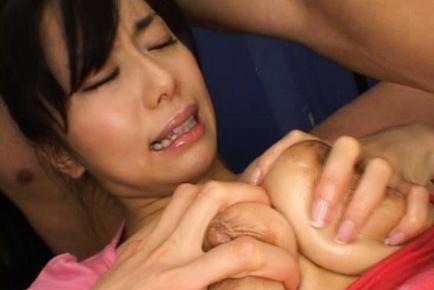 Hina Hanami Amazing Japanese babe shows her hot tits