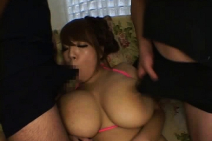 Hitomi Tanaka Japanese doll is lovely and busty