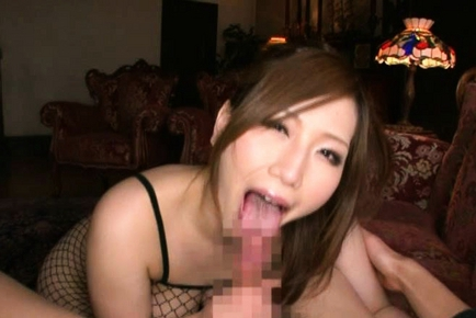 Ai Sayama Japanese model has big knockers