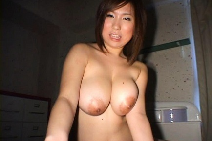 Norika Lovely Asian doll with huge hooters