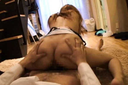 Rin hot Asian girl has cute boobs she shows off