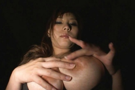 Kanon Ozora Busty Asian model is hot