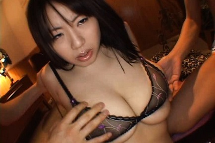 Rin Aoki Asian model has big beautiful tits