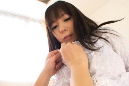 Anmi Hasegawa Asian doll has sweet big tits