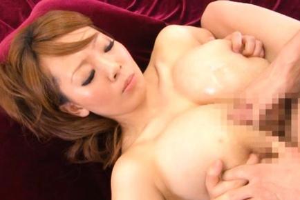 Hitomi Tanaka Japanese doll with big tits gets gangbanged