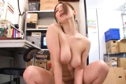 Ai Sayama busty Asian girl