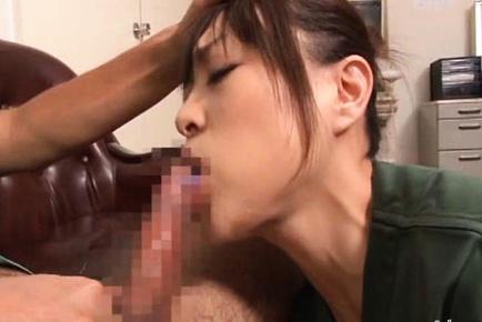 Fantasic ass rocked by big cock Reiko Nakamori