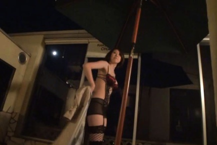 Busty Momoka Nishina In Lingerie Begs For A Hard Fucking
