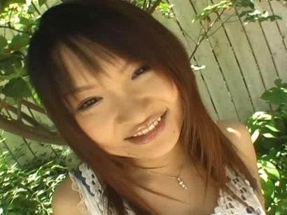 Ayumi Ayukawa Pretty Asian gals with big tits show off at the train station