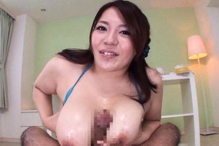 Hot bombshell with awesome breasts Mizuki Ann likes to get tits fucked