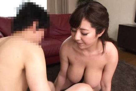 Busty asian milf enjoys hot hardcore sex