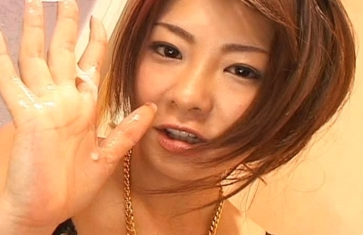 Minori Hatsune Lovely Asian doll dresses in her fem outfit for special services