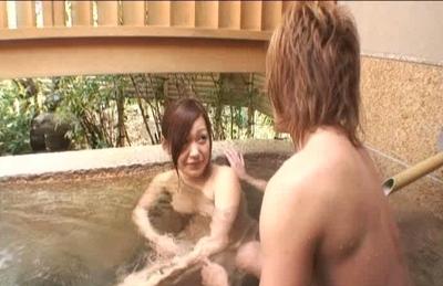 Nana Konishi Japanese model has perfect tits