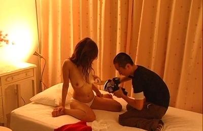 Ai Kurosawa Hot Asian model gets fucked by cameramen