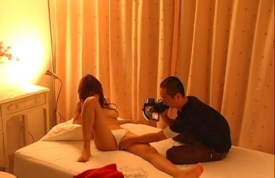 Ai Kurosawa Hot Asian model gets fucked by cameramen